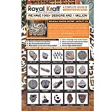 Clay Printing Stamps Urban Border Design Wood