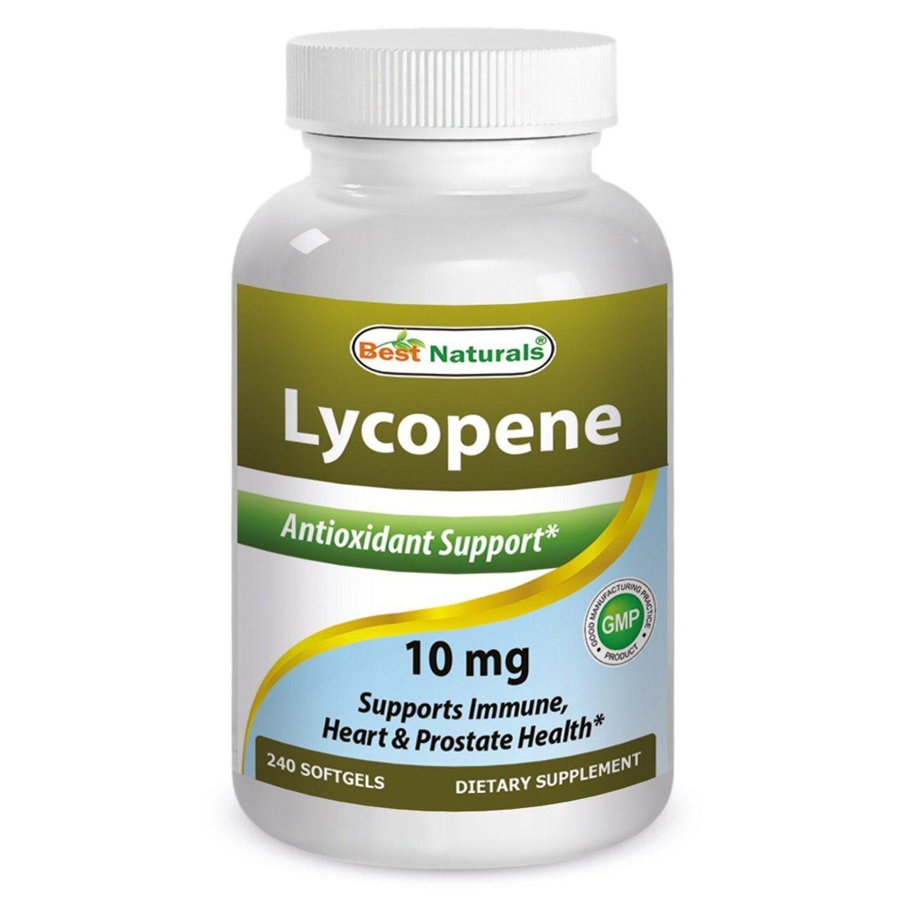 Best Naturals Lycopene, 10mg-- 120 Softgels