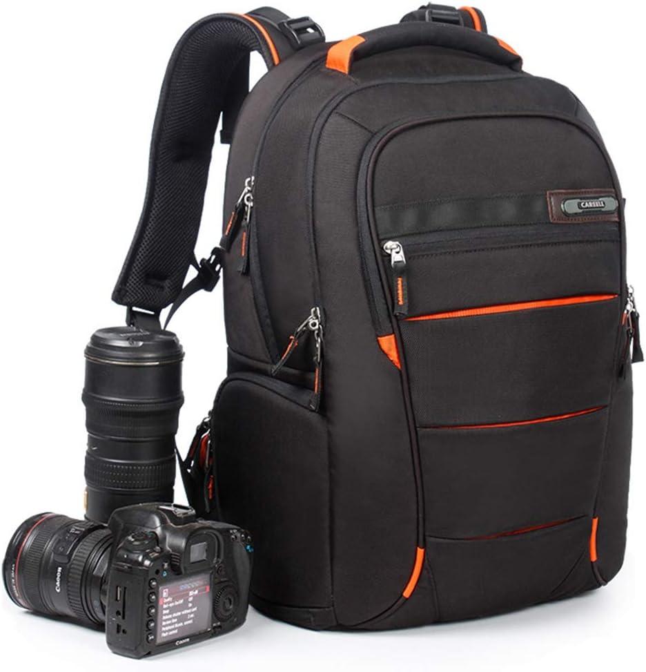 WUZHENG Camera Laptop Backpack for Outdoor Travel Hiking Fit 2 DSLR//SLR 3 Lenses Women and Man