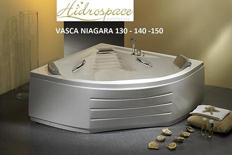 Vasca Da Bagno Zincata : Vasca idromassaggio hidrospace niagara 150 x150: amazon.it: casa e