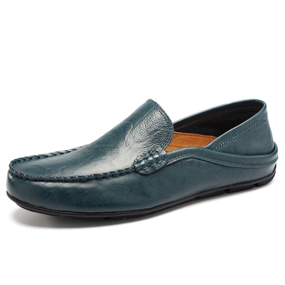 Zapatos Casuales para Hombre Zapatos De Verano Respirable para Hombres Slip-On Wild 42 EU Green
