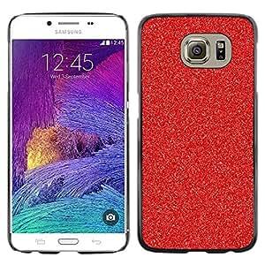 rígido protector delgado Shell Prima Delgada Casa Carcasa Funda Case Bandera Cover Armor para Samsung Galaxy S6 SM-G920 /Christmas Decoration Glitter Sparkle/ STRONG