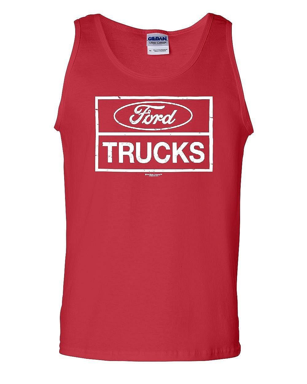 Distressed Ford Trucks Tank Top F150 American Pick Up Top