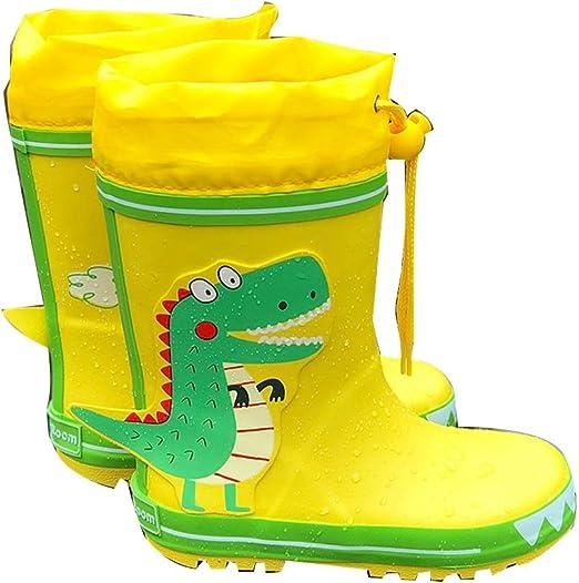 Xiao Yu Chaussures pour enfants Bottes de pluie pour