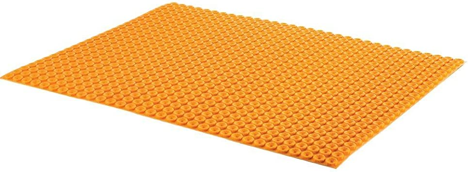 Ditra Heat 3 Ft 3 In X 2 Ft 7 In Uncoupling Membrane Sheet Dh5ma Amazon Com