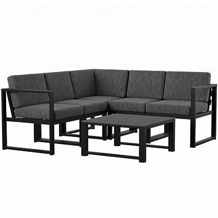 Super Amazon Com Mercury Row 6 Piece Sectional Set With Cushions Inzonedesignstudio Interior Chair Design Inzonedesignstudiocom