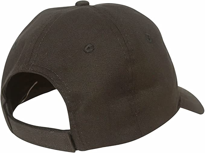 Black American Needle Shred Slouch Distressed Dad Hat Los Angeles 44520A-LOSA