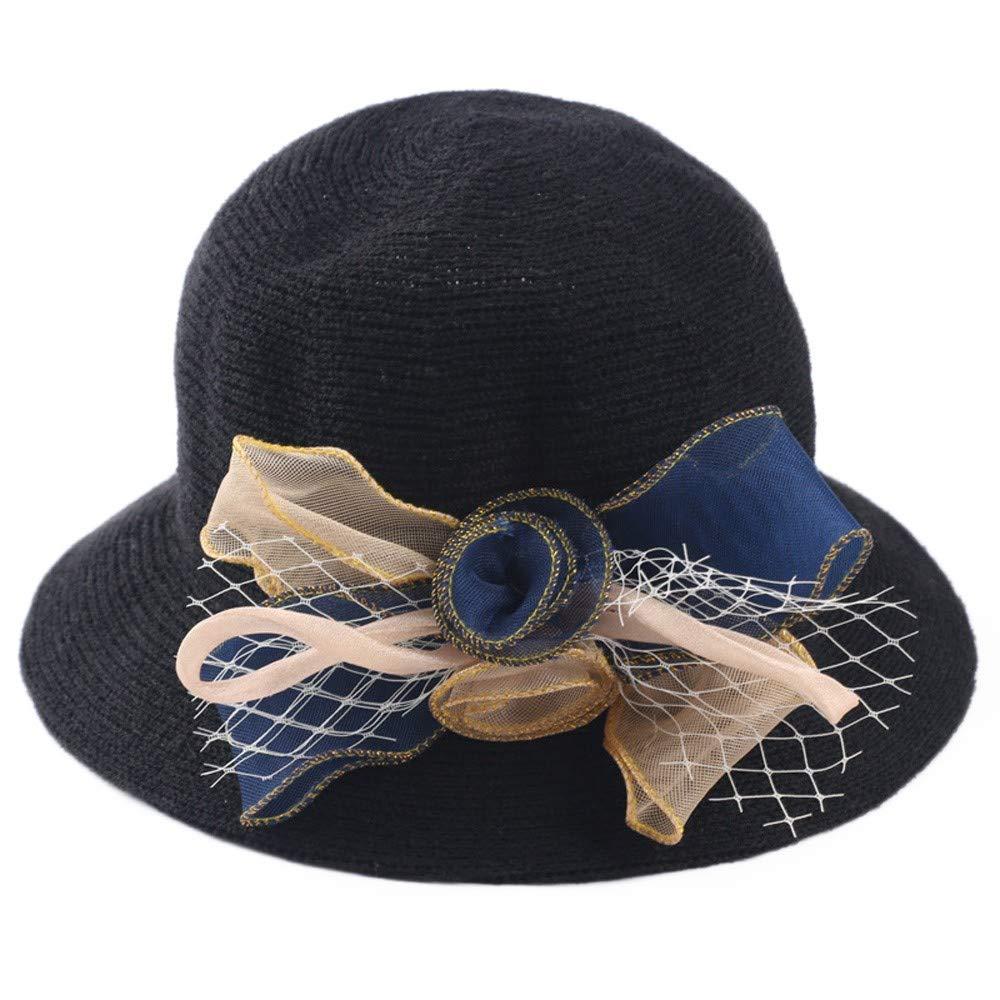 MERICAL Sombrero Fedora Gangster Cap Mujeres Playa Sombrero De ...