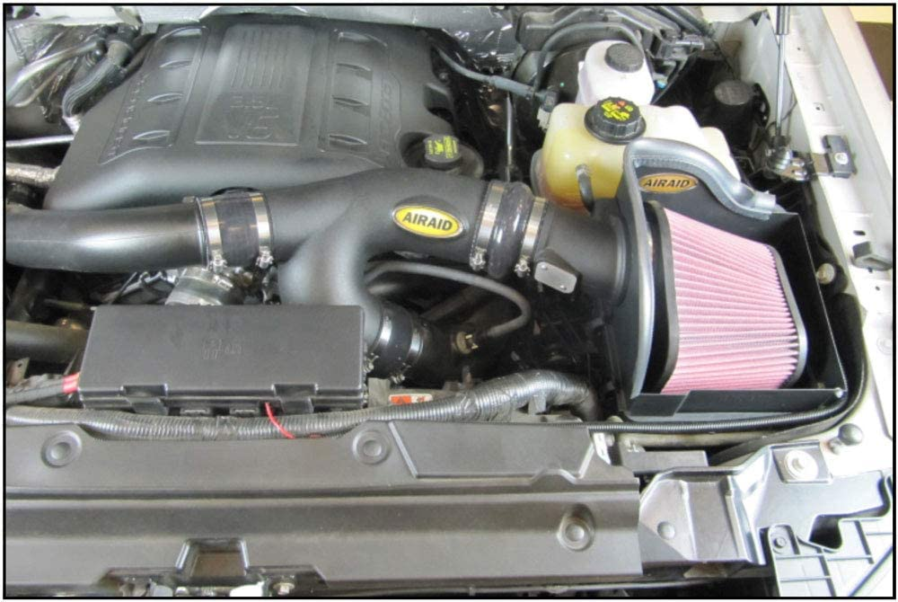 AIRAID 450-327 Performance Cold Air Intake System with SynthaFlow Oiled Air Filter
