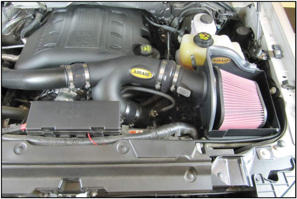 AIRAID 400-339 Performance Cold Air Intake System with SynthaFlow Oiled Air Filter