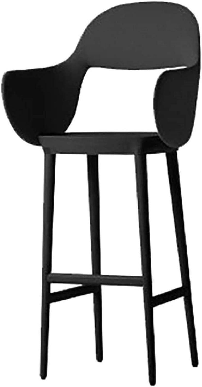 SGHH-UK Tabourets de Bar Tabourets, tabourets de Bar, des chaises, Chaise, Meubles, Bar, café, BackChair, Chaise de Bar (Couleur, Noir) Noir (Color : Black) Black