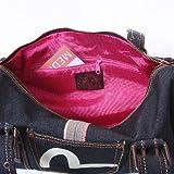 Evisu denim logo pocket gym bag EVIS0837