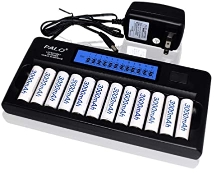 Universal Intelligent LCD Battery Charger Alkaline AAA AA Ni-MH NiCad Battery MT