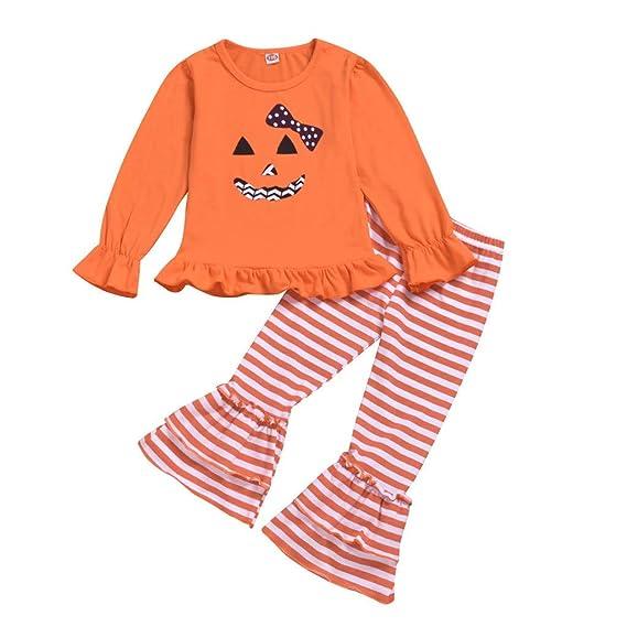 Baiomawzh Ropa Halloween Bebe Niñas Camisa Manga Larga ...