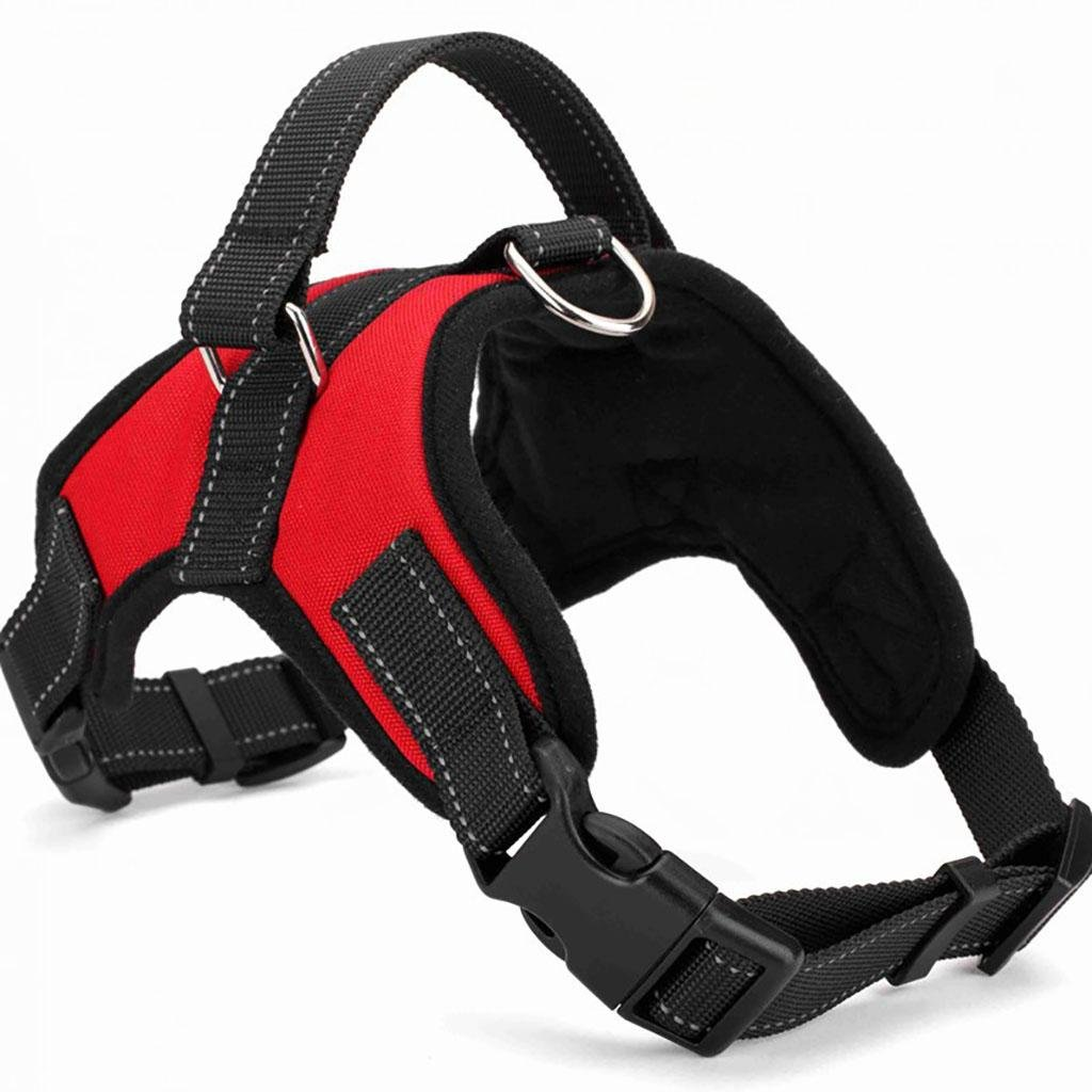 MYYXT Pet Vest Adjustable Non Pull Dog Harness Outdoor With Handle Easy Control For Small Dogs , m