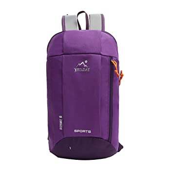 3a98eb95d1 MagiDeal 15L Kids Adults Mini Small Waterproof Backpack Casual Travel  Hiking Daypack (7 Colors) - Purple  Amazon.ca  Sports   Outdoors