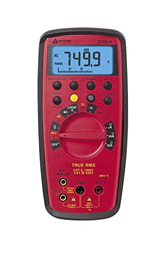 Amprobe 37XR-A True RMS Digital Multimeter with Component Logic Test with a NIST-Traceable Calibration Certificate with Data