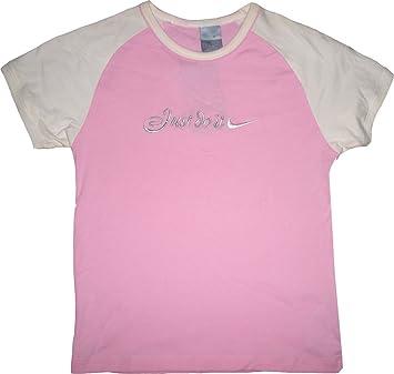 347da9312 Nike Camiseta de Just Do It. 100% algodón. Elástico