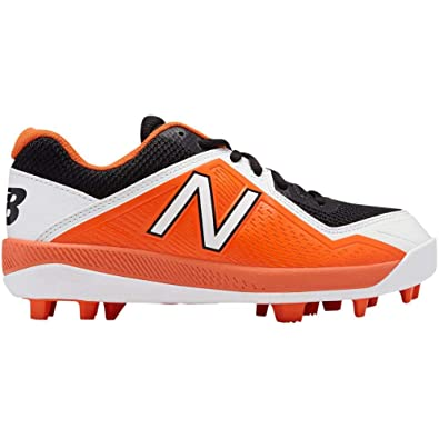 2551eeeb65eb Amazon.com | New Balance 4040V4 Rubber Molded Cleat - Junior's Baseball |  Track & Field & Cross Country