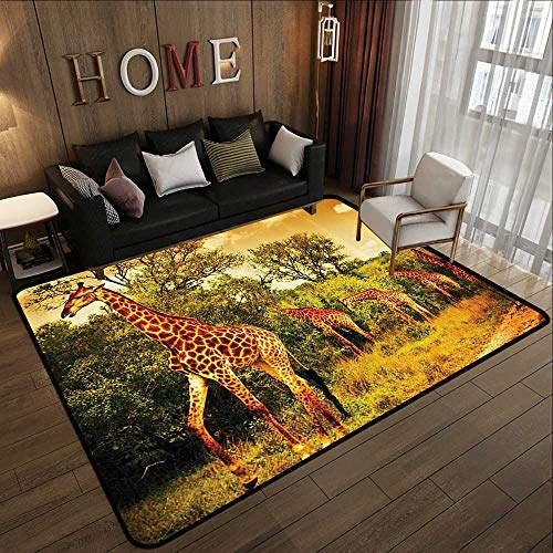 Giraffe Wildlife African Safari Decor