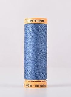 Cream Cotton Mako 50wt Large Spool 1300m Aurifil Thread 2123 BUTTER