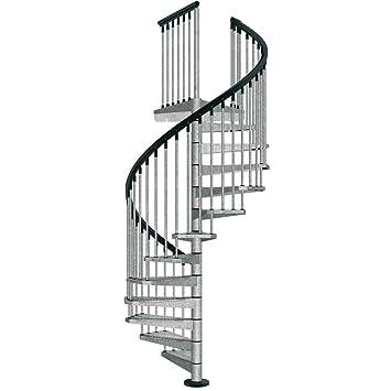 Galvanized Steel Spiral Staircase Kit