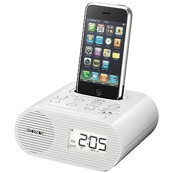 amazon com sony icfc05ip 30 pin ipod alarm clock speaker dock home rh amazon com sony icf-c05ip manual sony icf-co5ip instructions