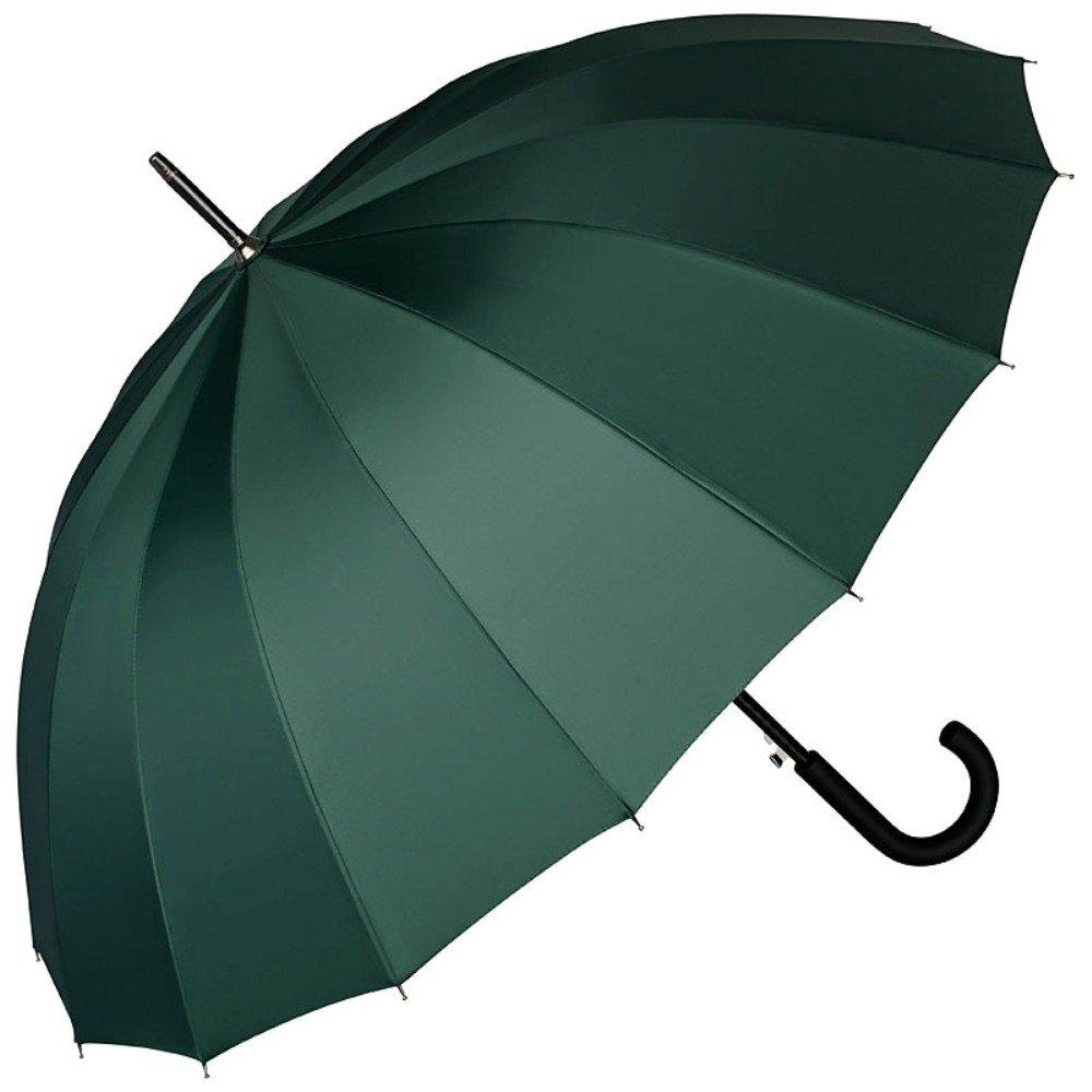 VON LILIENFELD Paraguas Mujer Hombres Automática 2 Personas 16 segmentos Devon Gris