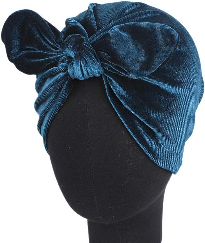 MoreChioce Damen Blumen Turban Frauen Baumwolle Kopftuch Muslim Sommerhut Haarverlust Bandana Headwrap Headscarf Hijab kopfbedeckung