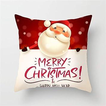 Csheng Fundas Cojines Navidad cojin Navidad Funda de ...
