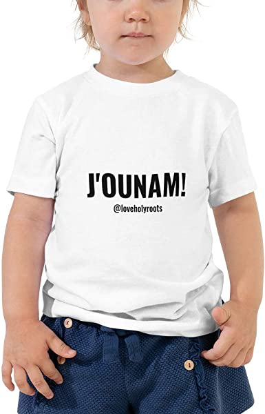 HOLY ROOTS Persian Slang My Soul Toddler Short Sleeve Tee