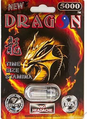 Dragon Platinum 5000 Male Sexual Enhancement 1 Pill 7 Days