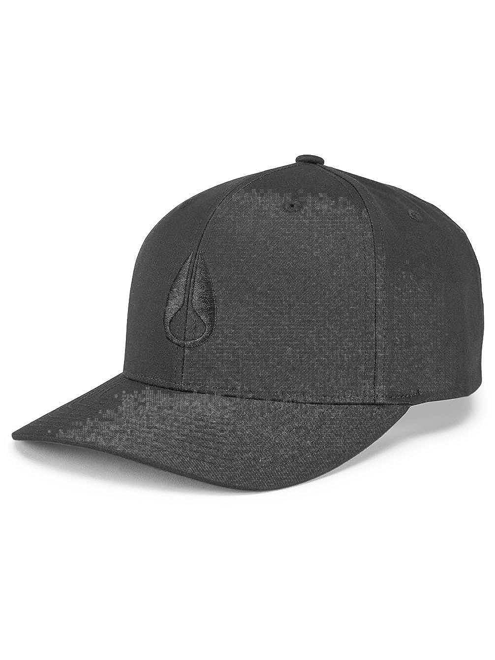 Nixon Wings Snapback Hat All Black One Size: Amazon.es: Deportes y aire libre