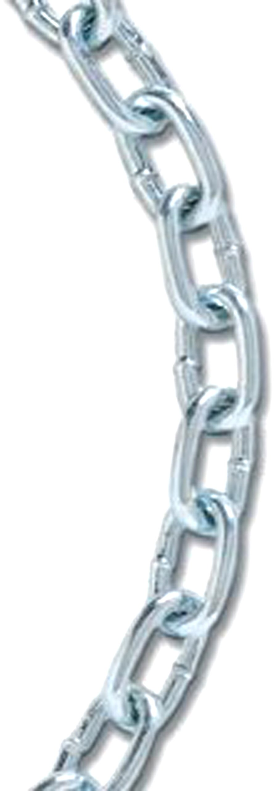 Koch 713876 No.4 by 100-Feet Machine Straight Chain, Zinc Plated by Koch