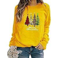 Sudadera Navidad Mujer Jersey Arbol Navideño Feo Sudaderas Navideñas Mujer Divertido Pullover Navidad Ugly Jerseys…
