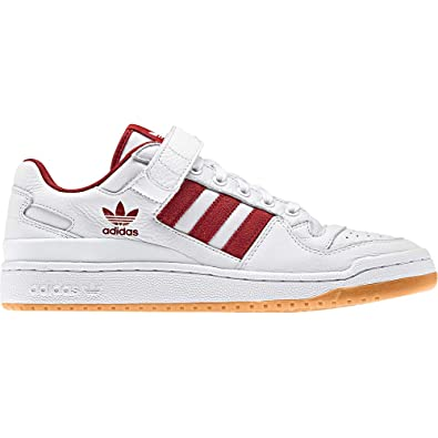 adidas Men Original Forum Low Mens B37769 Size 7.5 White