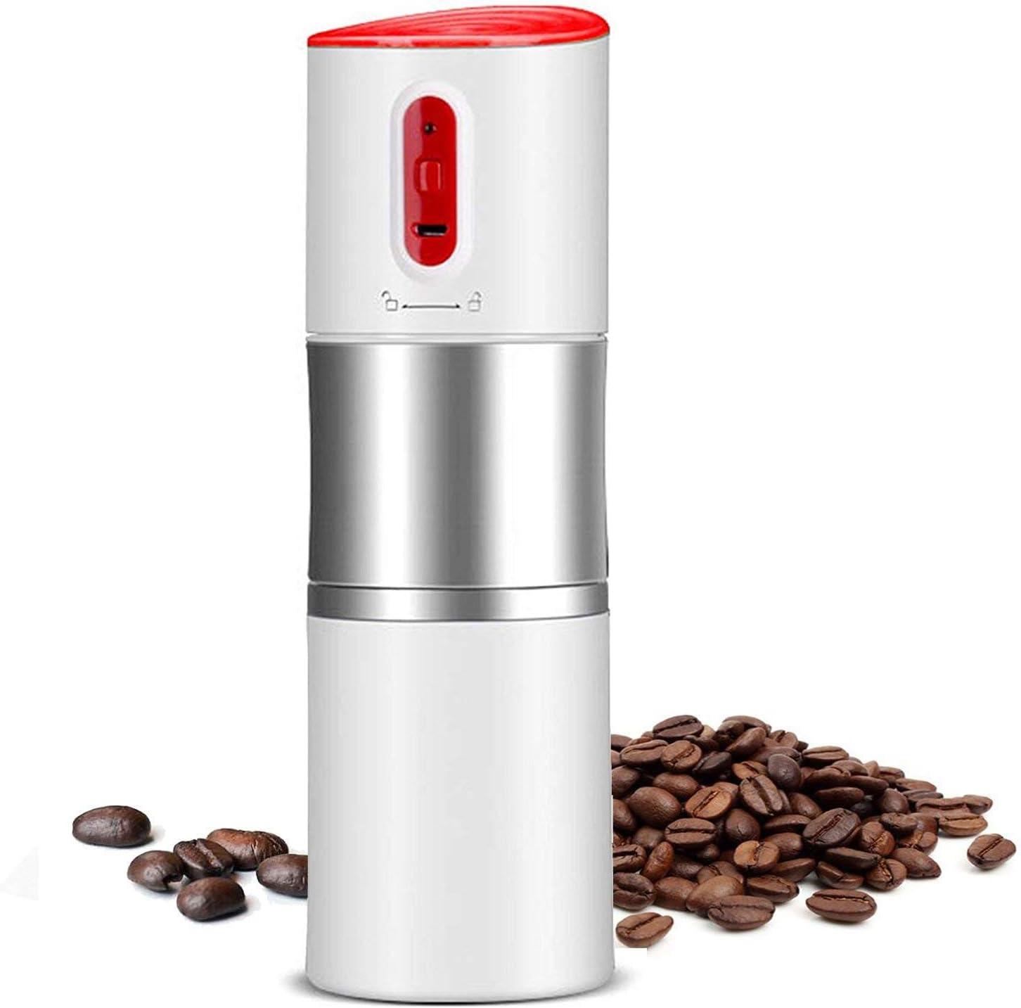 Semoic - Molinillo de café portátil, cafetera automática ...