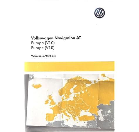 Original VW Volkswagen tarjeta SD con mapa de Europa material Discover Media – 5 G091 9866ae: Amazon.es: Coche y moto