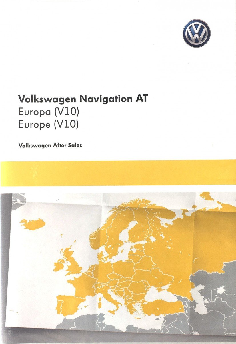 Original VW Volkswagen SD card with Europe map discover