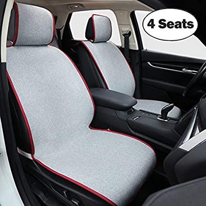 amazon com big ant car seat cover, universal 4 seats breathablebig ant car seat cover, universal 4 seats breathable nonslip car seat protector, 2pc