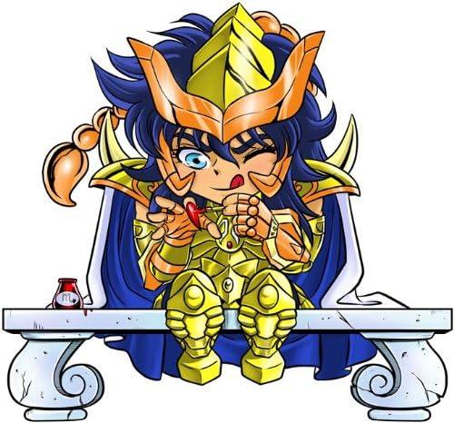Saint Seiya umoristico con Milo di Scorpio Ref:492 OKIWOKI Body Beb/è Bianco I Cavalieri dello Zodiaco Parodia I Cavalieri dello Zodiaco - Saint Seiya