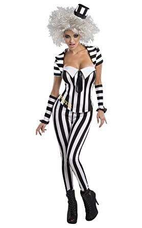 Secret Wishes Womenu0027s Beetlejuice Corset Style Costume Multi X-Small  sc 1 st  Amazon.com : secret wishes costumes  - Germanpascual.Com