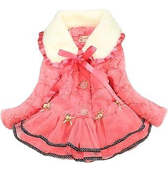 2c52bb9ef748 Amazon.com  M RACLE Baby Girls  Kids Toddler Winter Warm Outerwear ...
