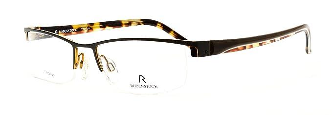 ec3e50d128 Amazon.com  Rodenstock eyeglasses R 4793 D titanium semi rimless ...