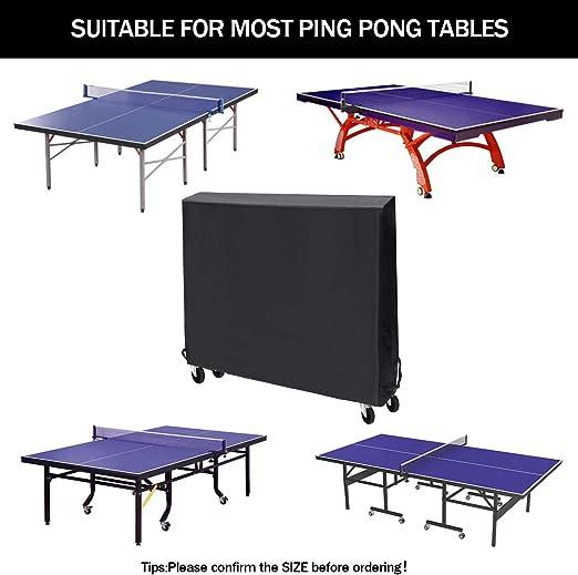 210D tennis de table bureau ping-pong OUTDOOR//INDOOR Waterproof antipoussière couverture