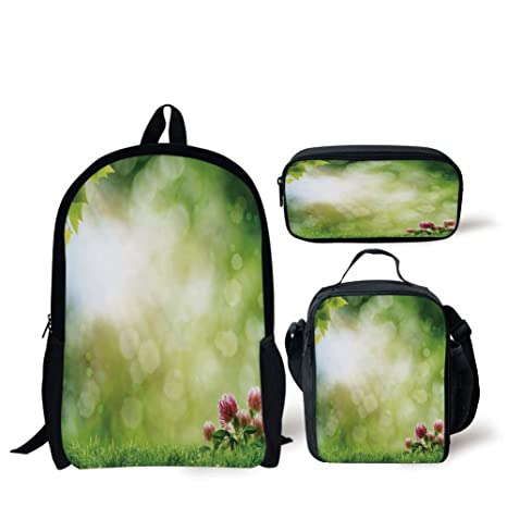 35723f227cc6 Amazon.com: School Lunch Pen,Nature,Fresh Spring Meadow with ...