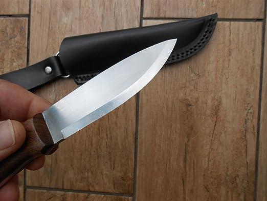 Amazon.com: Venta. Bushcraft cuchillo – 01 hoja de acero ...