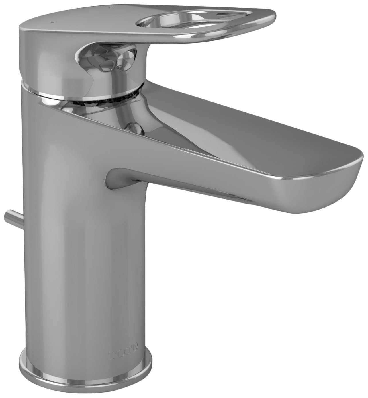 TOTO TL362SD#CP Oberon R Single-Handle Lavatory Faucet, Chrome ...