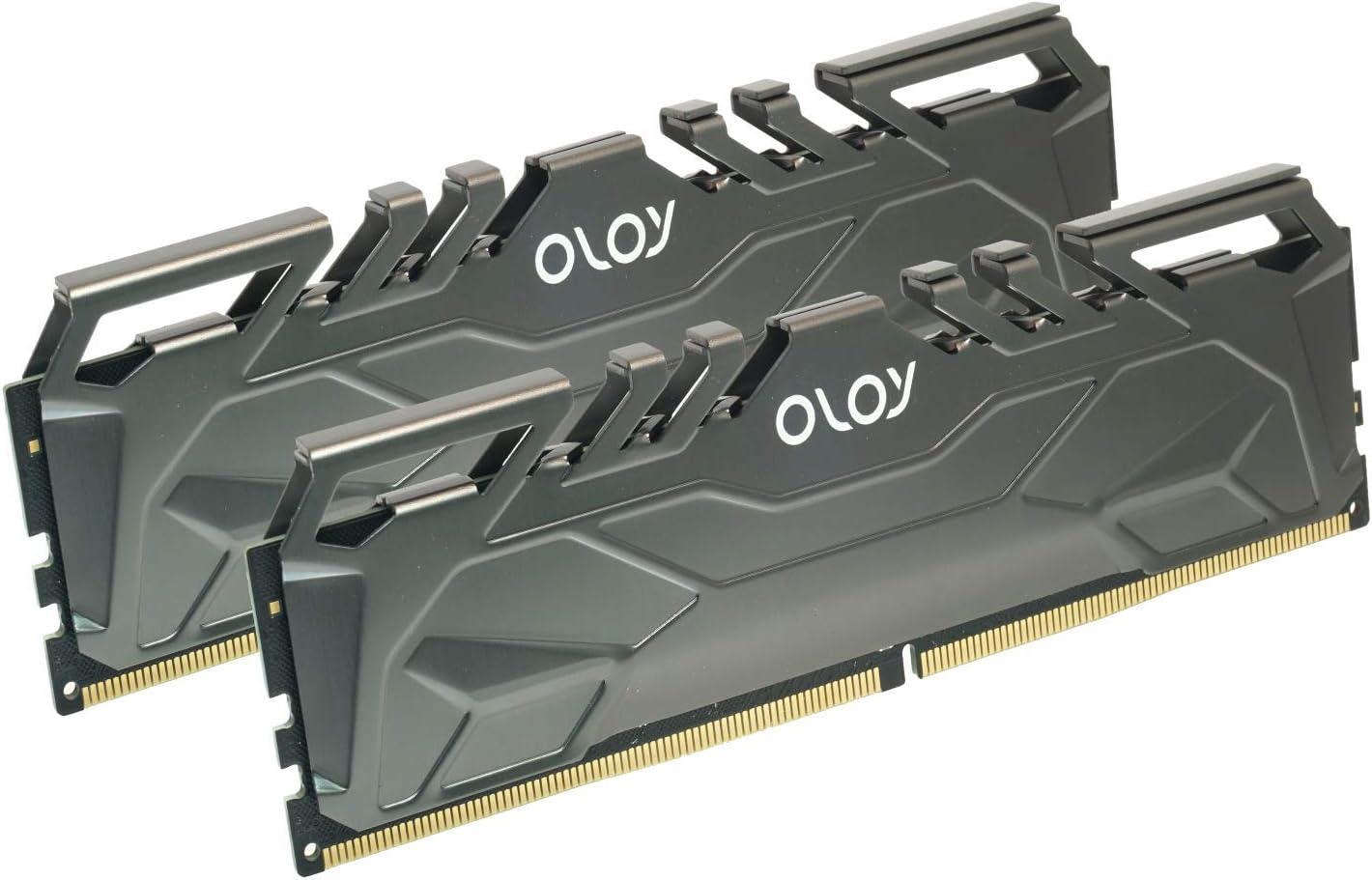 OLOy DDR4 RAM 16GB 2x8GB 3200 MHz CL16 1.35V 288-Pin Desktop Gaming UDIMM MD4U0832160BHKDA