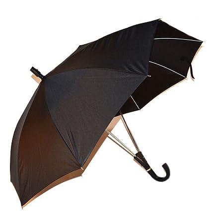 Sombrillas, Paraguas Dobles Abren Automáticamente Par Paraguas Altura Media Fácil De Llevar